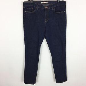 J BRAND Jeans 32 Skinny Leg Pure Dark Wash 811C032